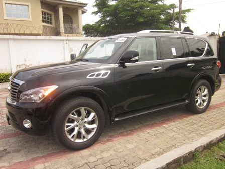2012 infiniti qx56 captain 39 s deck edition autos nigeria. Black Bedroom Furniture Sets. Home Design Ideas