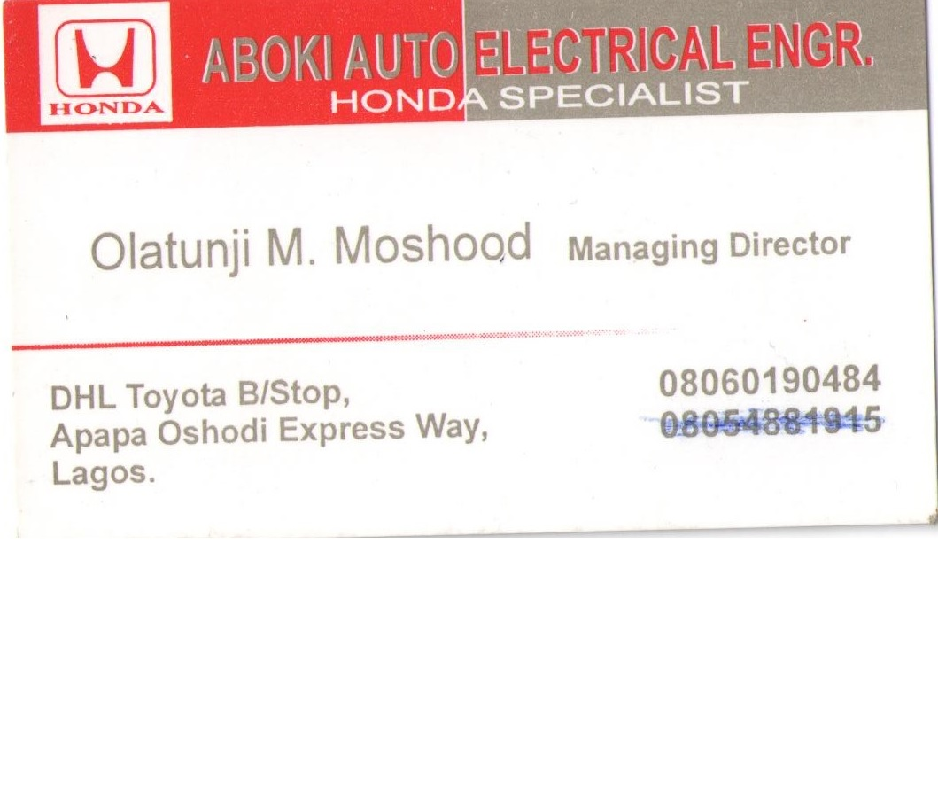 Car Repair Centres In Abuja