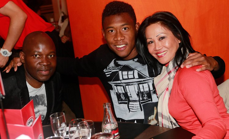 Photo David Alaba And His Parents Celebrities Nigeria