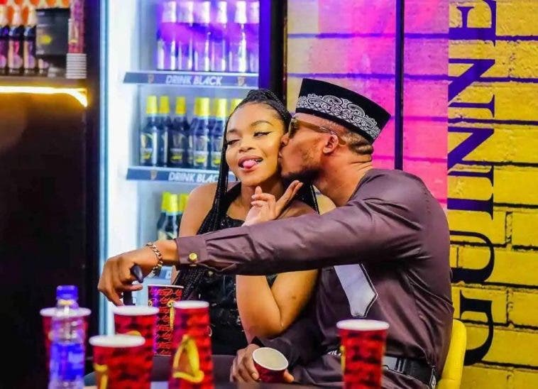 BBNaija: Laycon Interrupts Lilo And Eric As They Kiss In Bed 2