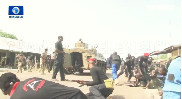Gov Zulum Refuses Go Down As He Was Being Shielded During The Attack (pic/video)