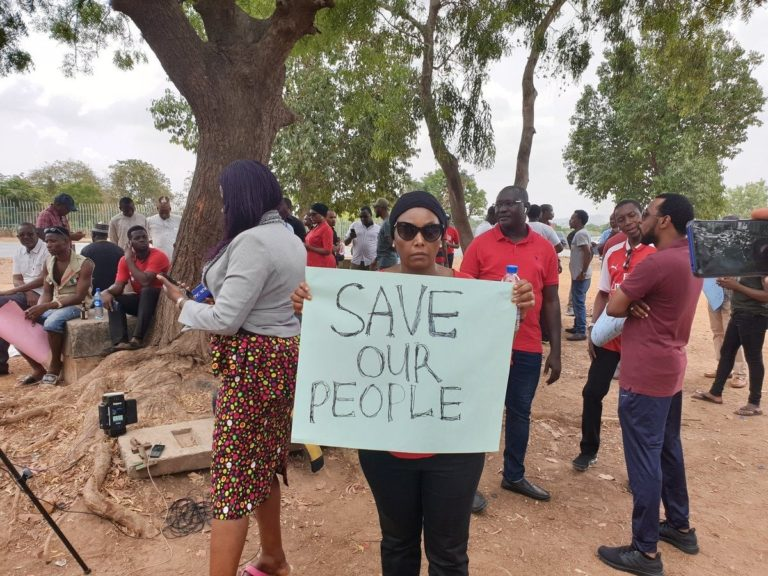 Insecurity: Police Disrupt Protest By Southern Kaduna Youths