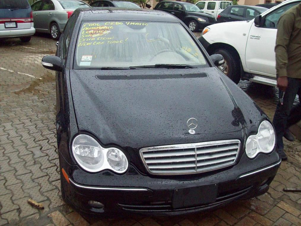 ASKING PRICE:2.7M/NEG CALL;08146328887. Re: Tokunbo 2006 Mercedes Benz C280  ...