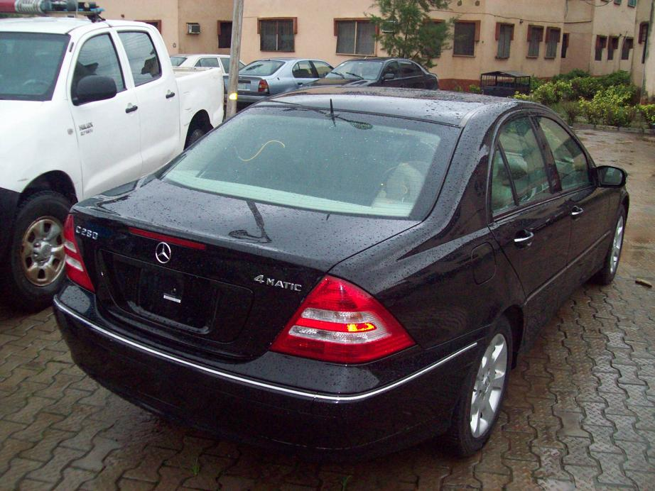 Exceptional ASKING PRICE:2.7M/NEG CALL;08146328887. Re: Tokunbo 2006 Mercedes Benz C280  ...