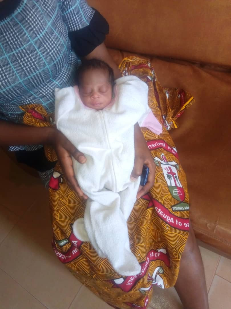 Police Rescue A Day-Old-Baby Abandoned in Anambra (Photos)