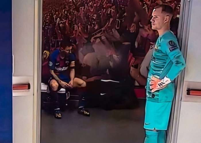 Lionel Messi 'isolates' Himself From Teammates After Barca Defeat 2