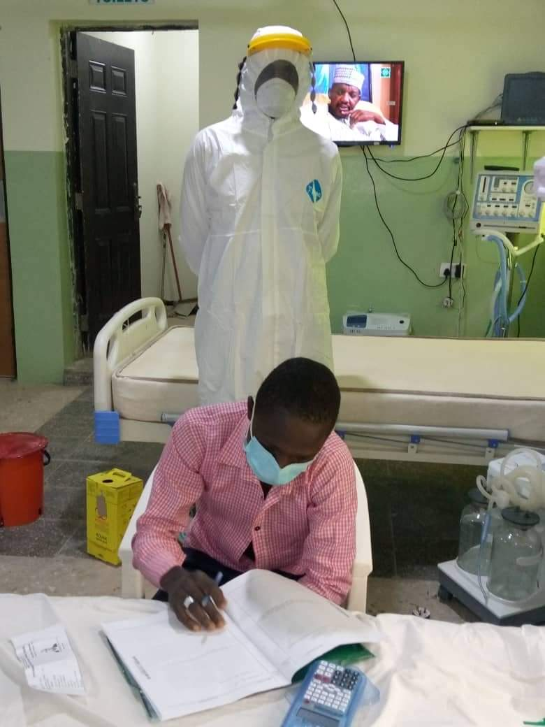 How SSS3 Student Who Tested Positive to COVID-19 Wrote His Own WAEC in Gombe 3