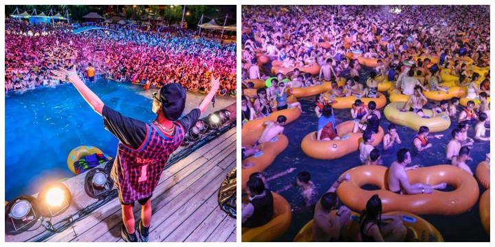 Wuhan Pool Party In China Sparks Outrage Amidst Covid-19 2