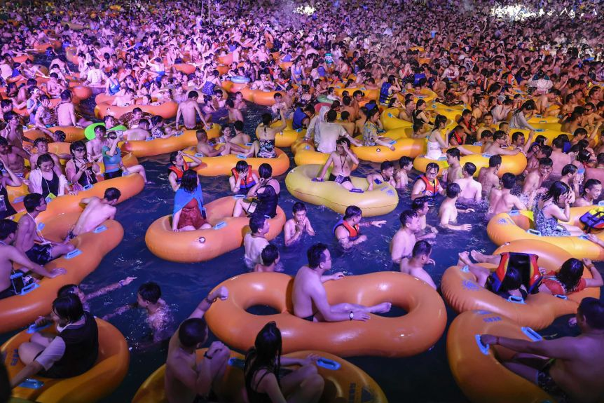 Wuhan Pool Party In China Sparks Outrage Amidst Covid-19 3
