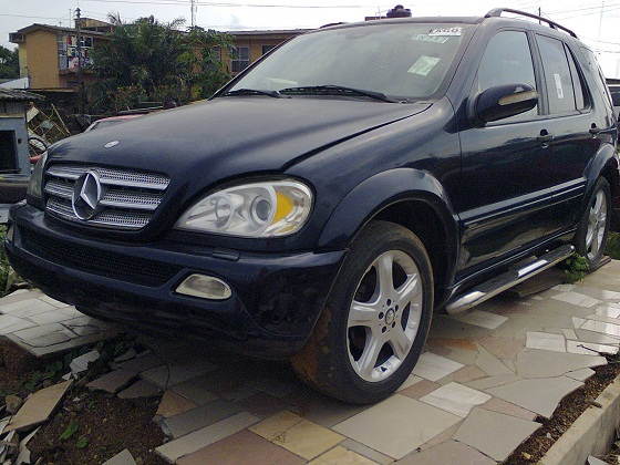 Tokunbo mercedes benz ml320 2001 n1 600 call for 2001 mercedes benz ml320