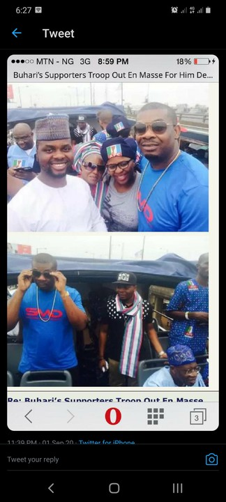 Don Jazzy Campaigned For APC (Throwback Photos)