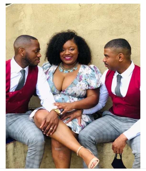 Woman Flaunts Her 2 Husbands, Says 'Marrying 2 Men Is Greater Than Marrying One' 2