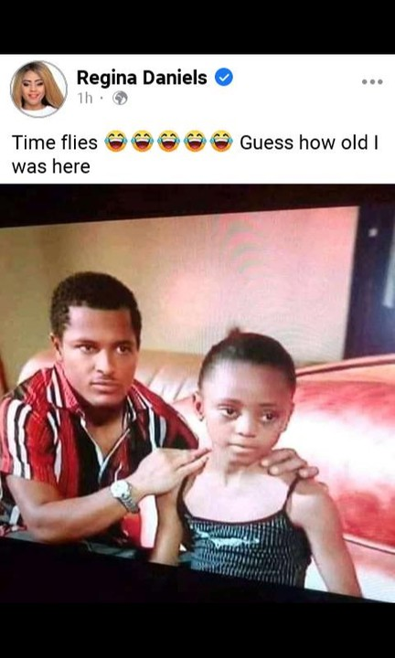 nollywood - Van Vicker And Regina Daniels (Throwback Photo) 12418581_screenshot20200928130109_jpega1508edfc482df42cefcafff98a95575