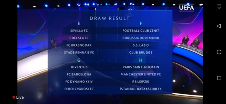 UEFA Champions League 2020/2021 Draw @ 4:00PM Today ...