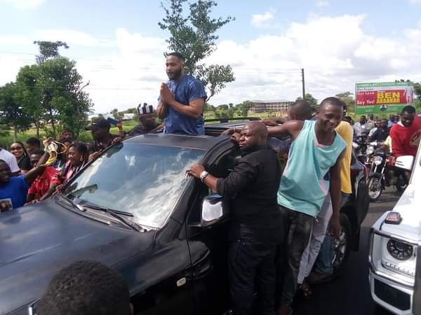 BBNaija: Benue People Welcome Kiddwaya In Style (Photos, Video) 2