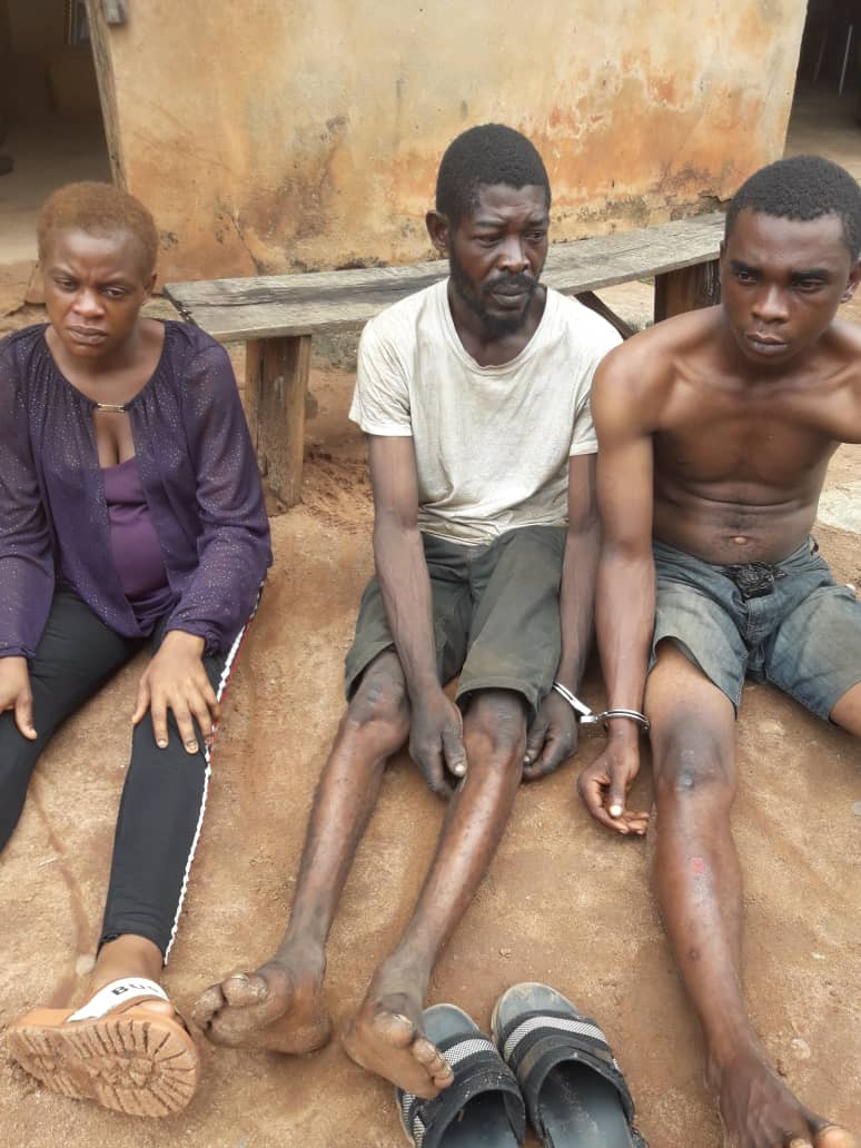 Robbery Gang Led By A 9-Month Pregnant Woman Arrested In Edo
