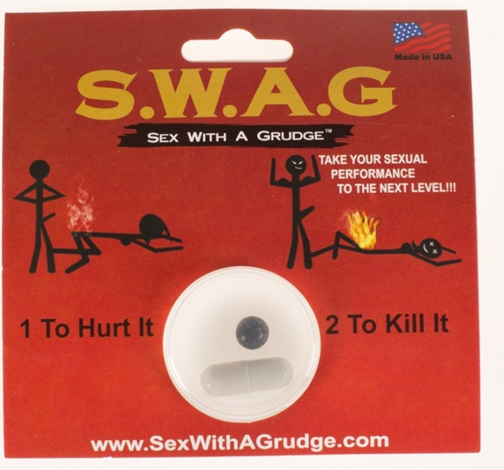 Swag sex with a grudge
