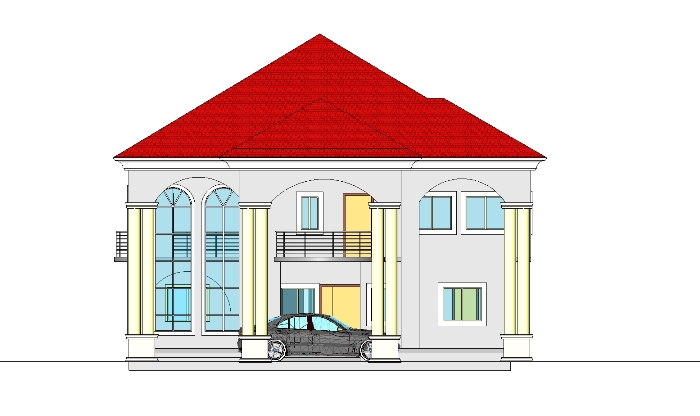 Construction of a 6 bedroom duplex at owerri properties for Duplex building prices