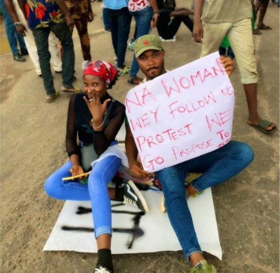 """EndSARS Protest Will Give Ladies Husband This Year More Than Shiloh"" - Nkechi Blessing"