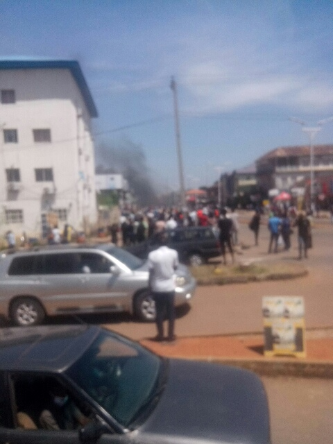 EndSARS: Gunshots In Jos As Police And Protesters Clash 2