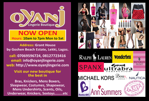 0ca1647765f8d This shop has just opened called Oyanj Lingerie in Lekki