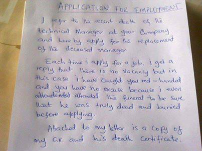 Job application letter jokes etc nigeria re job application letter by nobkemi 427pm on aug 18 2013 thecheapjerseys Image collections