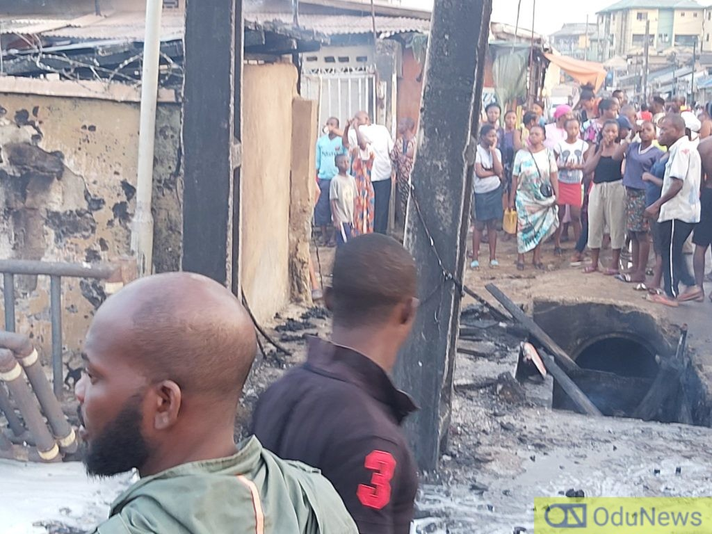 Tanker Explosion At A Filling Station In Ogba (Video) 3