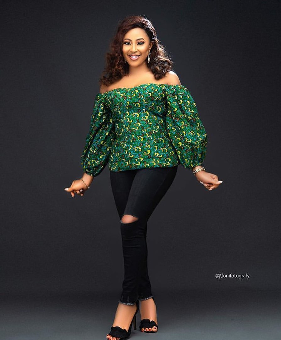 Latest Ankara Tops And Jeans For Ladies In 2020 - Fashion - Nigeria