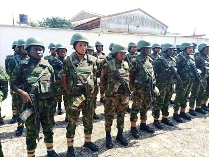Female Soldiers Deployed To Anambra To Restore Normalcy 2