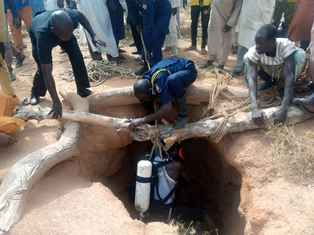 Photos As 6-year-old Boy Drowns In A Well In Kano