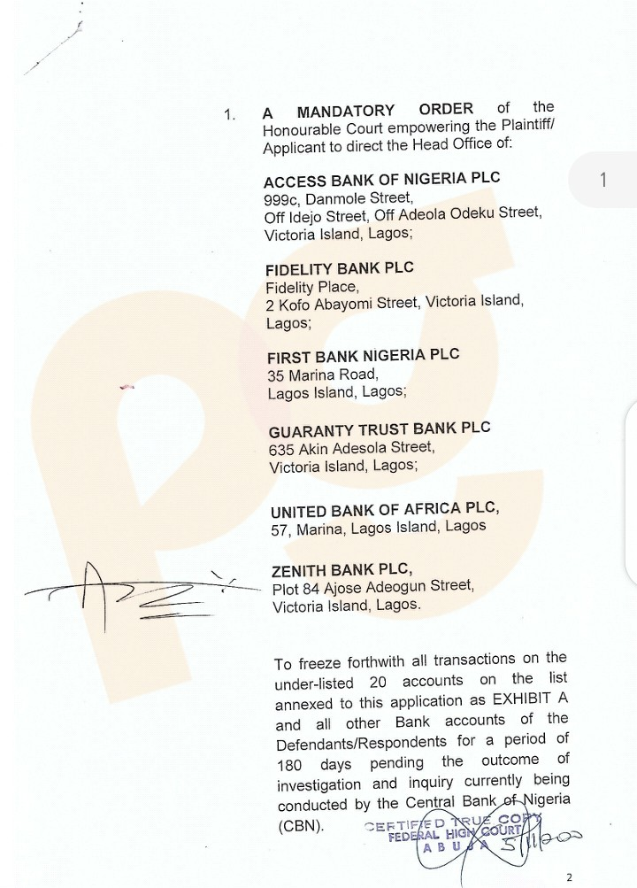 CBN freeze bank accounts of Rinu, Pamilerin, Gatefield, 17 other #EndSARS promoters