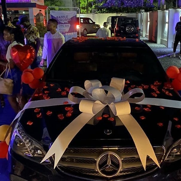 Icons gift Laycon a Benz on his birthday