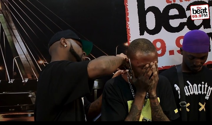 Davido Walks In To Surprise His Fan At Beat FM (Video) 3