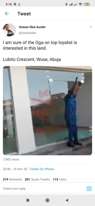 Video As AMAC Demolishes Abuja Shopping Plaza With People And Goods Inside