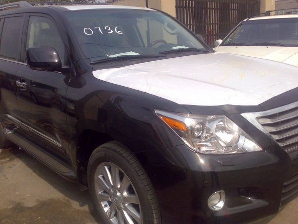 2009 lexus lx 570 i am speechless autos nigeria. Black Bedroom Furniture Sets. Home Design Ideas