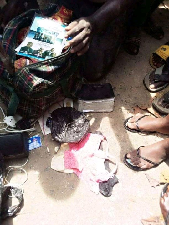 Edo Pastor Caught With Female Pants, Laminated Pictures Of Girls In Bayelsa 3