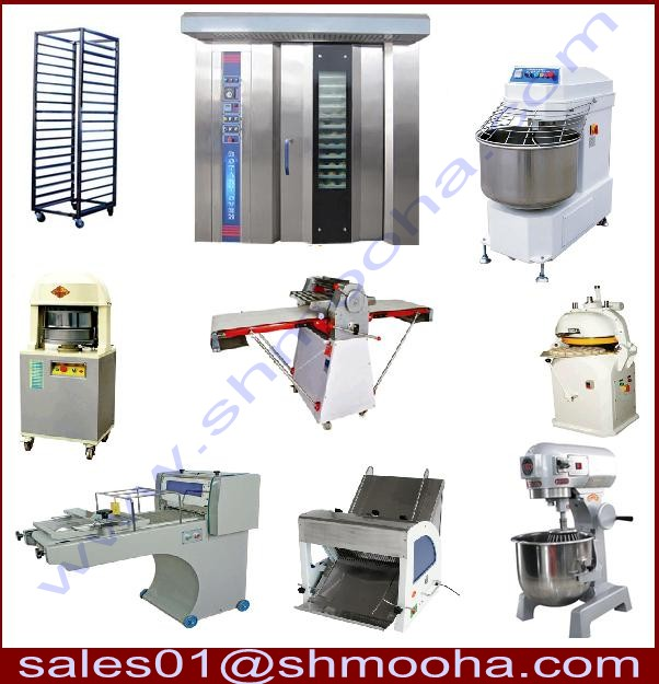 Industrial Kitchen, Laundry, Bakery And Ice Cream Machines