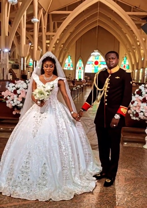 Check Out Church Wedding Of Deola Smart And Malivelihood (photos, Video)