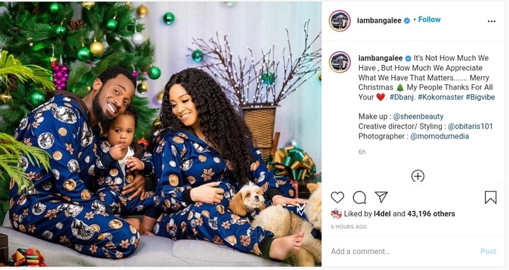 D'Banj Christmas Photos With His Wife And Son - Celebrities - Nigeria