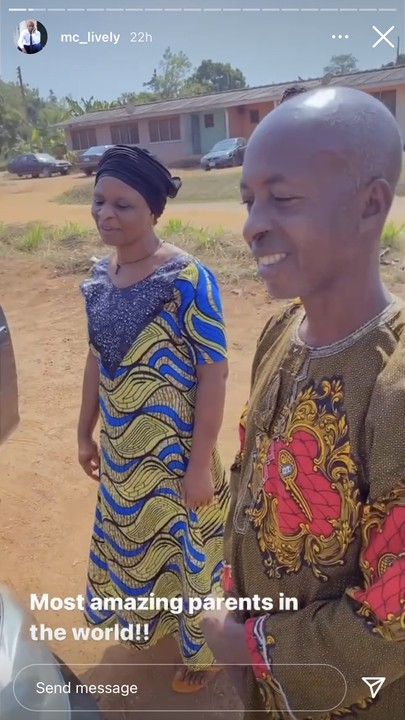 MC Lively Gifts His Parents A Car For Christmas (Video) - Celebrities - Nigeria
