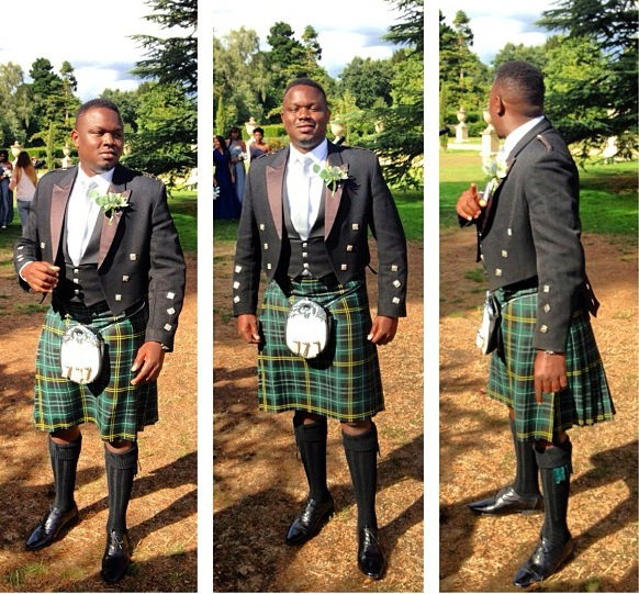 Picture Of Dr. Sid In a Kilt (Skirt) - Entertainment - Nigeria