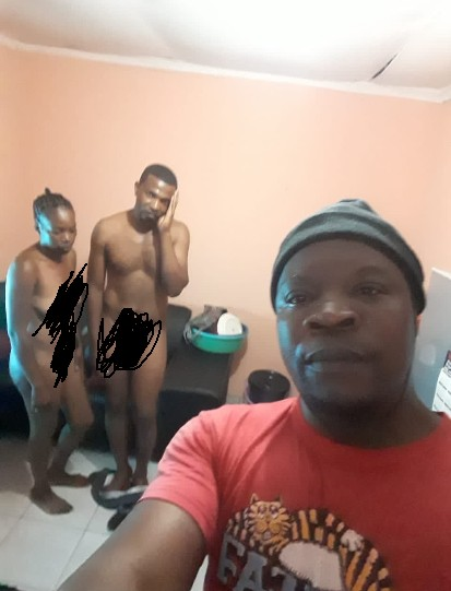 Man Takes A Selfie With Wife and Lover After He Catches Them Red-Handed