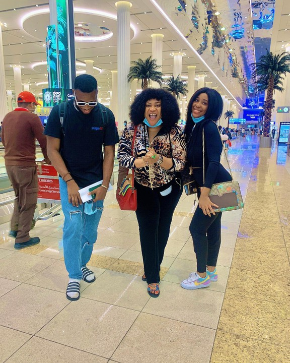 Nkechi Blessing Takes Personal Photographer and Sister On Dubai Trip