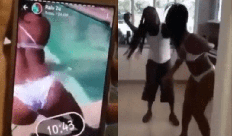 Man Catch His Only Daughter Full Naked Doing Twerking