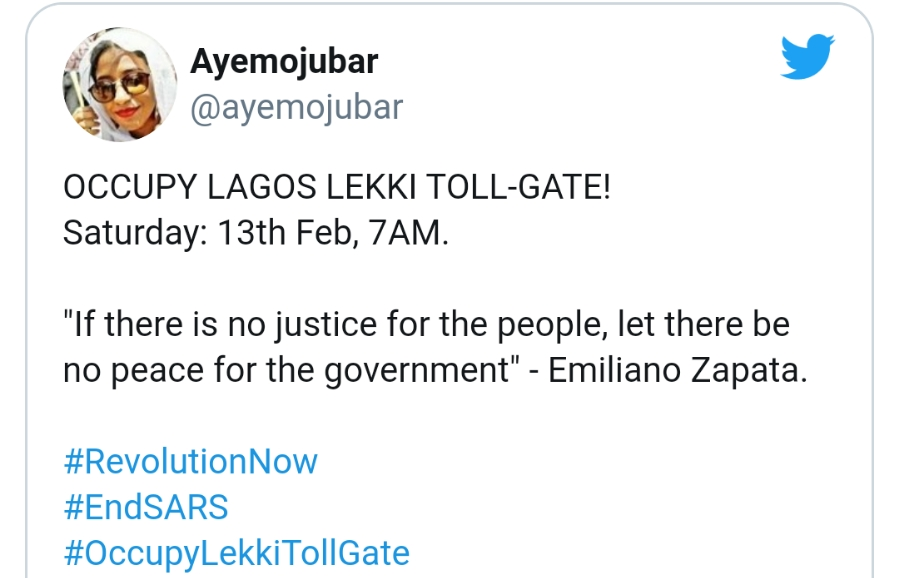 Nigerians To Protest Over Reopening Of Lekki Tollgate