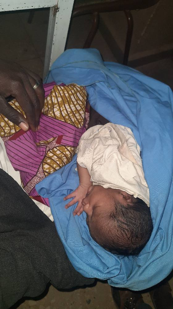 Mother Abandons Her Newborn Baby With A Written Note In Katsina