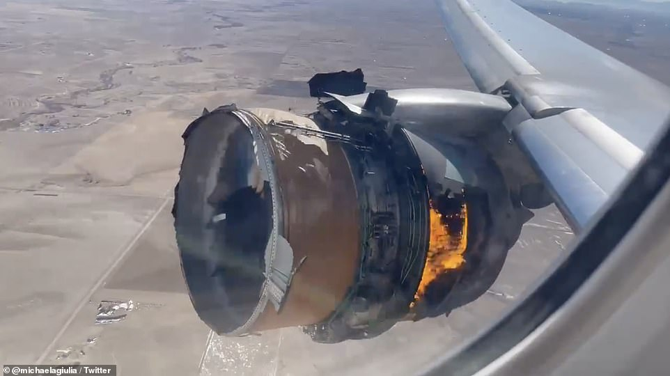 Plane Makes Emergency Landing After Engine Parts Fell Off In U.S