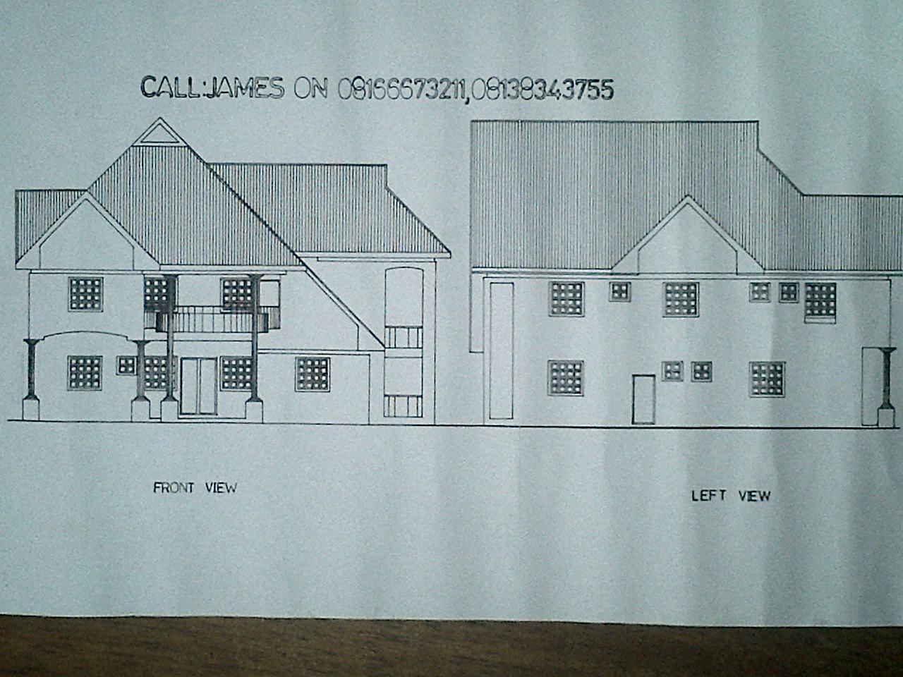 For your building plans çąℓℓ us on 08166673211