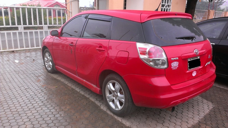 neatly used 2005 toyota matrix xr for sale in abuja autos nigeria. Black Bedroom Furniture Sets. Home Design Ideas