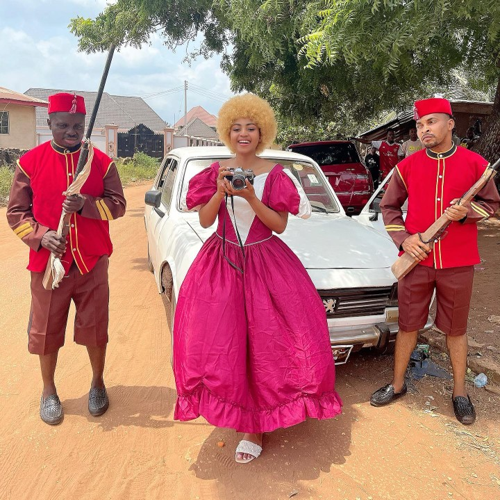 """Regina Daniels Returns To Acting With """"The Journey Of Love"""""""